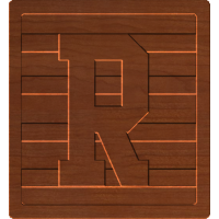 Block Letters R