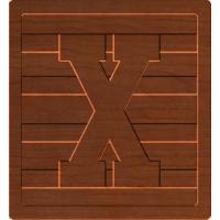 Block Letters X