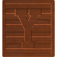 Block Letters Y