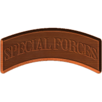 Army Special Forces Shoulder Tab