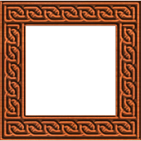 Celtic Knotwork Picture Frame