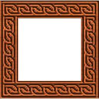 Celtic Knotwork Picture Frame