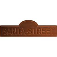Santa Christmas Sign 004 A