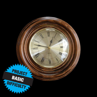 Classic Round Wall Clock