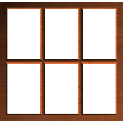 rustic country window frame or border 002 a - Window Picture Frame