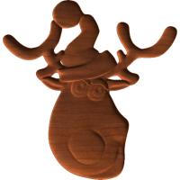 Reindeer Head VA3D
