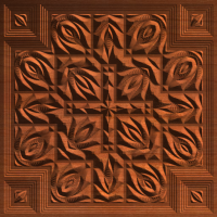 Neo-Victorian Cross Tile 003 A