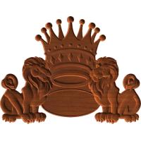 Lion Crown Border