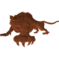 Sabre Tooth Mascot