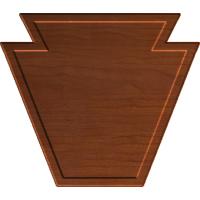 Keystone Plaque Blank 003 A