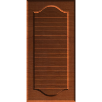 Classic Double-Arched Country Shutter or Door Face