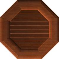 Decorative Octagonal Shutter Vent 212 A