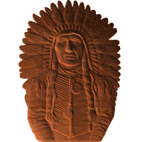 American Indian Warrior Chief - AB - 001