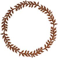 Oak Leaf Flourish 3