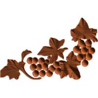 Grapes Corner Embellishment