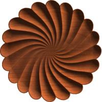 Angular Swirl Rosette