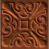 Square Rosette Pattern
