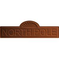 Arctic North Pole Sign