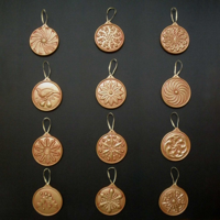 Victorian - Style Tree Ornaments