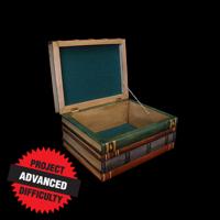 Stacked Books Decorative Box