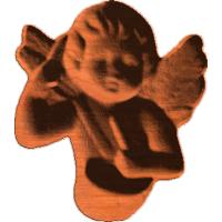Angel w/ Drum 302