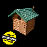 Hunter's Cabin Birdhouse