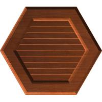 Hexagonal Vent Accent