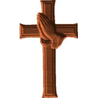 PrayingHandsCross