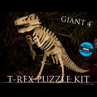 Giant 4 Foot T-Rex Puzzle Kit
