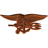 US Navy Seal Badge
