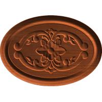 Flourish- with oval 2