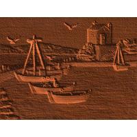 Fishing Harbor Scene - AB - 002
