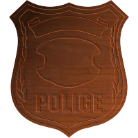 Police Badge 003 - CSF