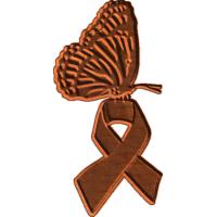 Butterfly w Ribbon