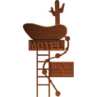 Blank Motel Sign - CSF