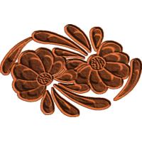 Swirling Flowers - CSF
