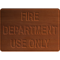 Fire Dept Use Only - CSF