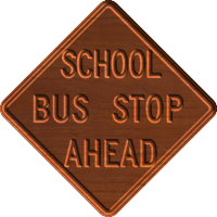 School Bus Stop - CSF