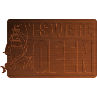Open Sign w Ship 002 - CSF