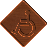 Handicapped Sign 001 - CSF