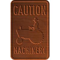 Caution Machinery - CSF