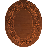 Frame - Acorn And Oak Leaf Oval