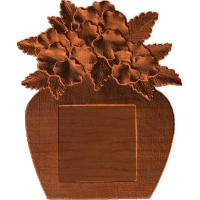 Frame - Poseys In Vase