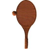 Tennis Racket And Ball - AB - 001