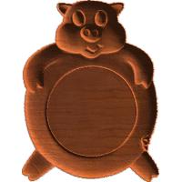 Plaque - Pig - AB - 001