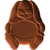Plaque - Rabbit - AB - 001