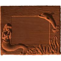 Frame - Mermaid And Dolphin - AB - 001