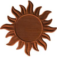 Frame - Sunburst - AB - 001