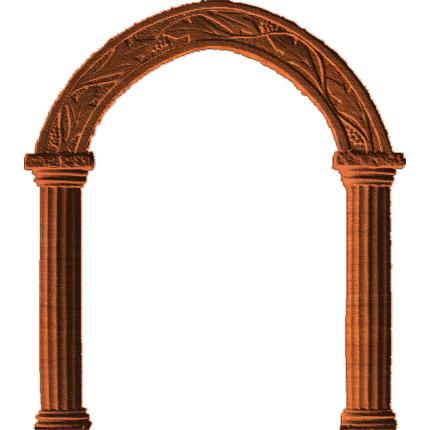 Roman Columns And Arch Ab 001