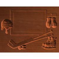 Plaque - Hockey Motiff - AB - 001